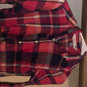 shear old navy flannel